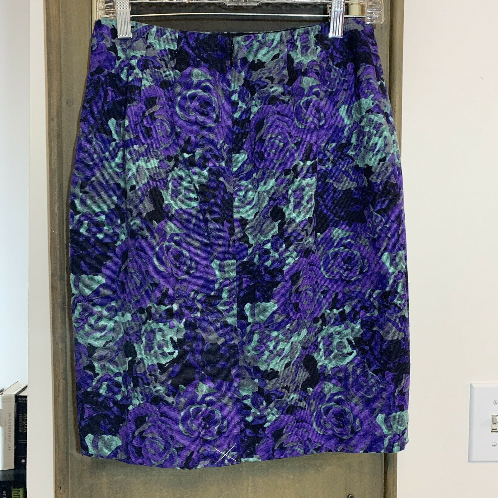Talbots Floral Pencil Skirt 4P Retail  119
