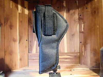Ruger 22//45 Target Model  5.5 inch Scoped Holster// Sportsman/'s Deluxe Black
