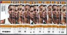 2015-16 NBA UTAH JAZZ COMPLETE FULL UNUSED SEASON BASKETBALL TICKETS - 44 TIX