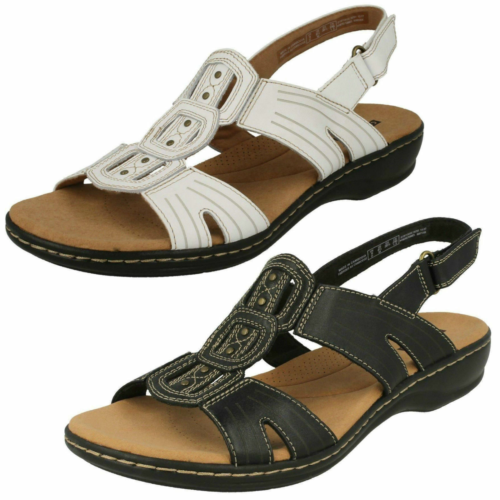 CLARKS LADIES SANDALS LEISA VINE