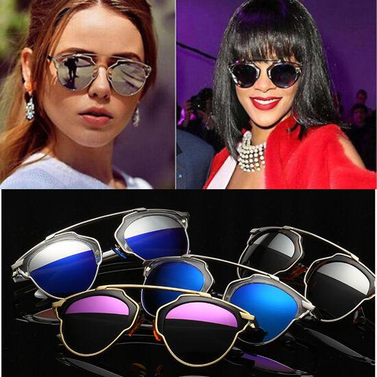 Agstum Mujeres Gafas de sol polarizadas Christian Designer Ojo de Gato Gafas Con Espejo