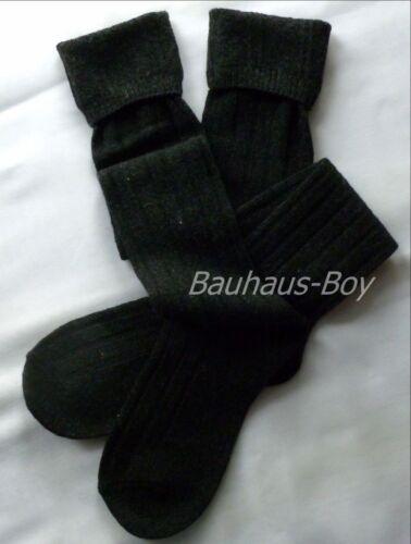 Faldita Manguera calcetines En Gris Oscuro Talla 8-10 Lana Mezcla Para Cristóbal máquina lavable Nueva