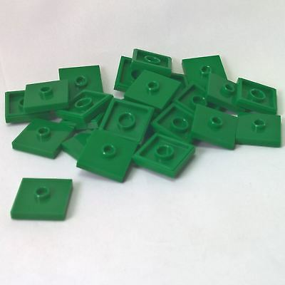 Lego 20 2 x 2 Plate with Center Stud /& Bottom Groove Many Colors You Pick NEW