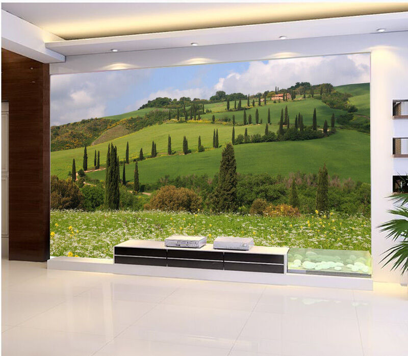3D Broad Grassland Green 642 Wall Paper Wall Print Decal Wall AJ WALLPAPER CA