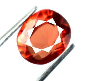 Natural Padparadscha Orange Sapphire 2.20 Ct Oval Cut Gemstone Certified A22600