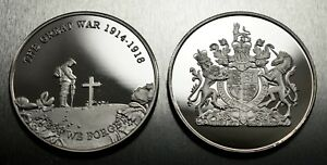 New Commemorative World War 1 Armistice/Reme<wbr/>mbrance Day Coin Lest We Forget WW1