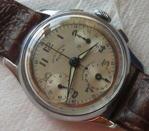 Alsta-Date-Chrono-mens-wristwatch-nickel-chromiun-case-33-5-mm-Landeron-159