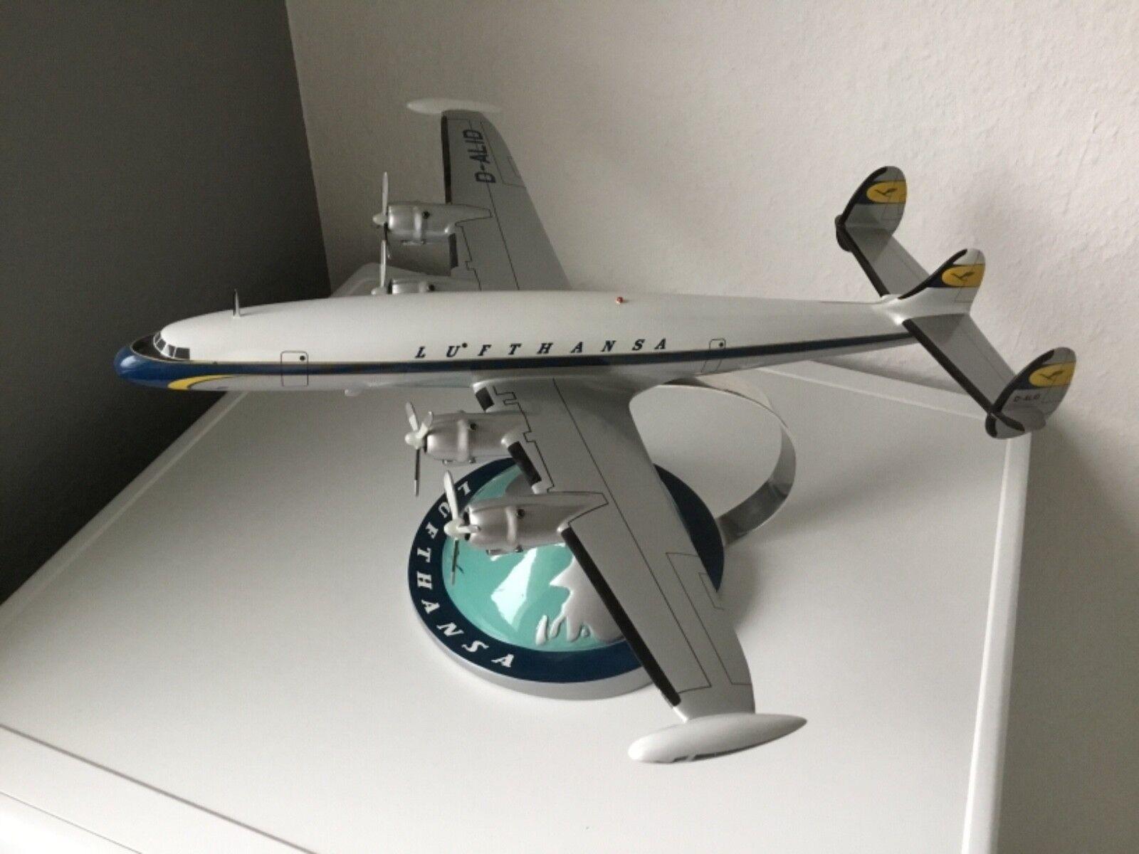 all'ingrosso economico e di alta qualità Aereo Lufthansa Super Constellation modellololo di aereo aereo aereo di Limox  ottima selezione e consegna rapida