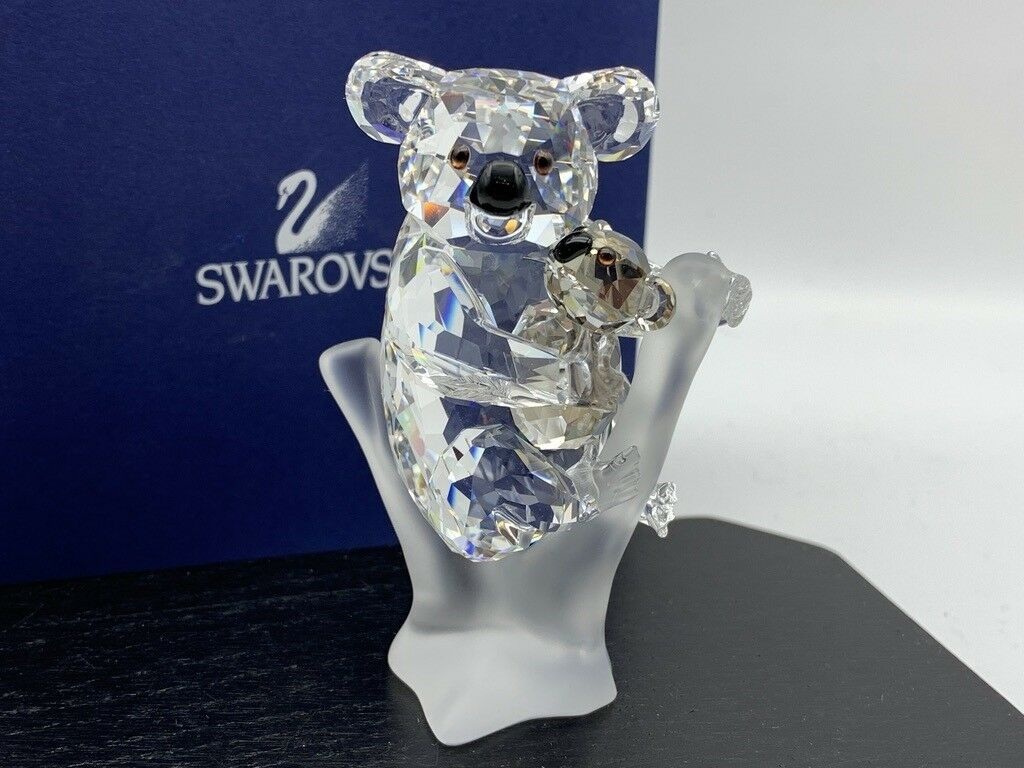 Swarovski Figur 955423 Koalas 7,7 cm.Ovp & Zertifikat.Top Zuland
