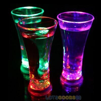Water Color Change Flash Light LED Whisky/Wine/Beer/Beverages/Juice Cup Bar Club