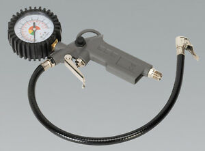 Sealey Tyre Inflator with Gauge SA302-5 YEAR WARRANTY
