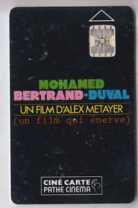 CINEMA CARTE CARD PATHE CINE 2 PLACES MOHAMED