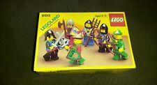 -Rare/SEALED- Lego 6103 Castle Knights Minifigures  LEGOLAND Knights 1988