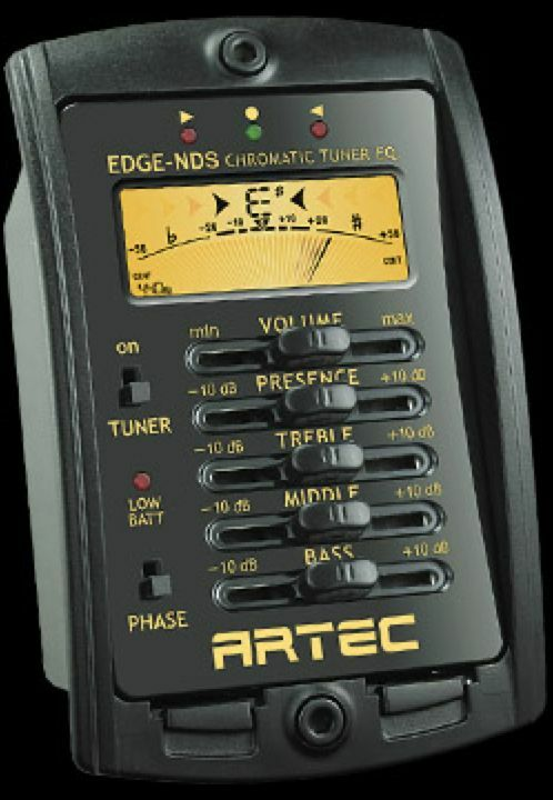 Artec EDGE-NDS- Preamp with the new SOAR100 flexible cable piezo - less buzz