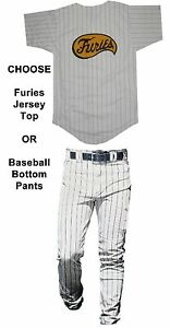 Adult-Mens-Movie-The-Warriors-Furies-Pinstriped-Baseball-Costume-Jersey-OR-Pants