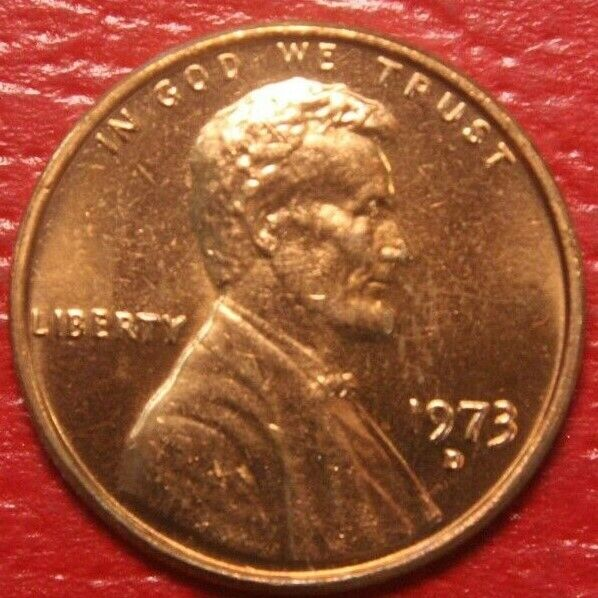 1973 S Lincoln Cent FREE SHIPPING BU