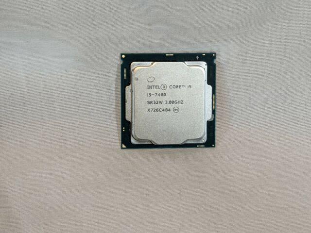 Intel Core i5-7400 - 3.00GHz Quad-Core CM8067702867050 Processor