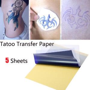 5x-Tattoo-Transfer-Kopierpapier-A4-Groesse-Schablone-Carbon-Thermal-Tattoo-Tools