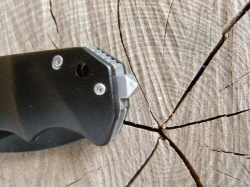RETTUNGSMESSER BÖKER Magnum BLACK SPEAR EINHANDMESSER  Taschenmesser