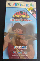 Sealed Vhs Tape: Pbs For Kids Adventures From The Book Of Virtues Courage
