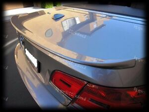 BMW-3-Series-E93-ALPINA-Look-Rear-Trunk-Boot-Lip-Spoiler-PRIMED-amp-QUALITY