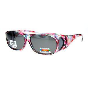 93f2d3ec8e0d Image is loading Polarized-Sunglasses-Fit-Over-Glasses-Oval-Rectangular-OTG-
