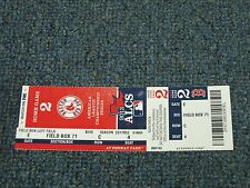 2013 American League Championship Series Game 2 Ticket Boston Red Sox