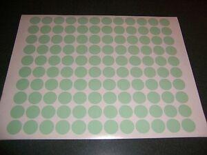 432 Blue Pastel Blank Rummage Garage Yard Sale Stickers