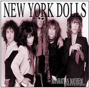 NEW-YORK-DOLLS-039-Manhattan-Mayhem-039-history-of-sealed-2xCD-Johnny-Thunders-new