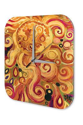 Bello Orologio Da Parete Feng Shui Nel Sole Immagine Parete Decorazione Orologio Vintage-mostra Il Titolo Originale Assicurare Anni Di Servizio Senza Problemi