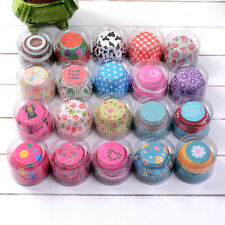 100Pcs Mini Cupcake Liners Paper Cake Baking Cup Muffin Cases Xmas Weeding Tools