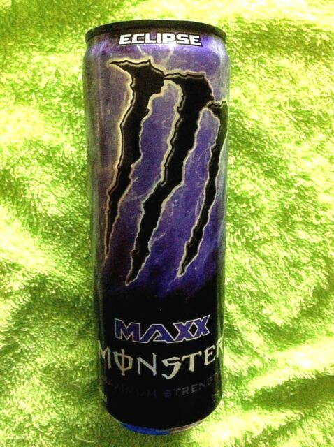 MONSTER ENERGY DRINK MAXX ECLIPSE MAXIMUM STRENGTH FULL 12 oz CAN PRE  RELEASE