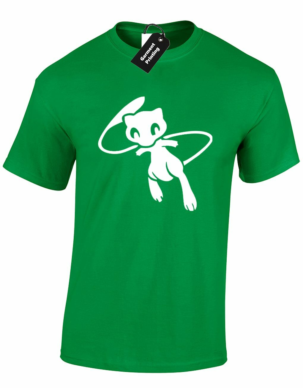 a1c29d1717d66 MEW SILHOUETTE MENS T SHIRT POKEBALL PIKA ANIME SQUIRTLE MEWTWO MANGA GIFT  NEW Funny free shipping Casual tshirt
