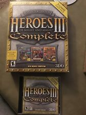 Big Box Collector's Edition Heroes III 3 Complete Of Might And & Magic PC Game