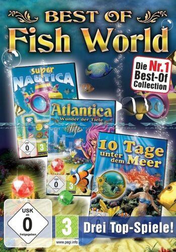 1 von 1 - Best of Fish World Atlantica - 10 Tage unter Meer Fishworld für Pc Neu