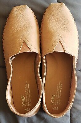 Toms Sand Pink Suede Leather Wrap