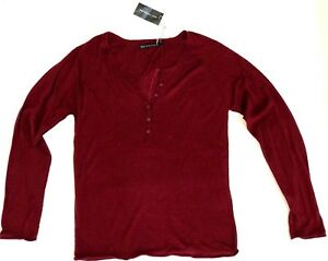 Berenice Silk Women's Detail By Back Red På Sweater Feather M W Cashmere ZwRqE5qP
