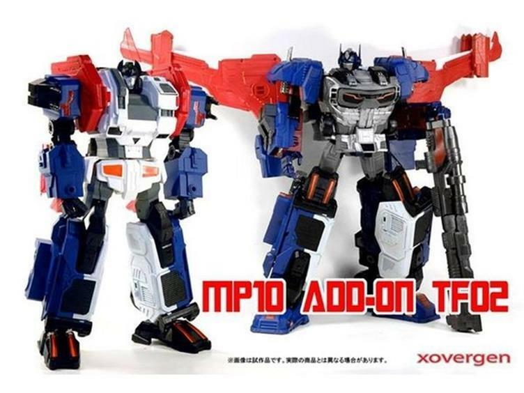 Transformers MP-10 Add on Masterpiece Xovergen TF-02 Godarmor NEW