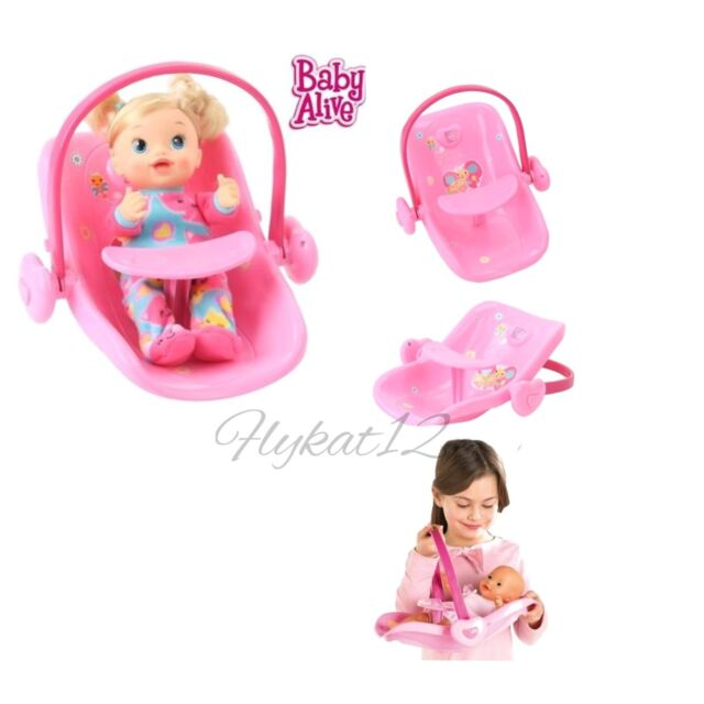 Baby Alive 2 In 1 Limited Deluxe Doll Carrier And Car Seat