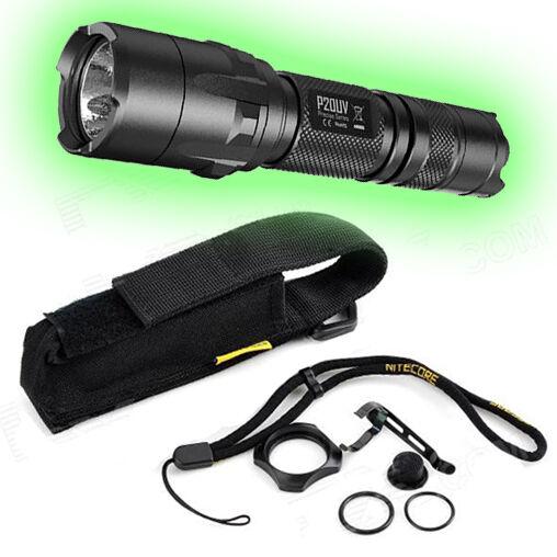 Nitecore P20UV Tactical LED Flashlight - 800 Lumens w Accessories
