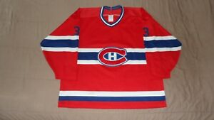 Montreal-Canadiens-Red-33-Patrick-Roy-CCM-Men-039-s-Size-XL-NHL-Hockey-Jersey