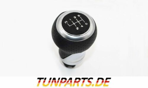 6 Gang Schaltknauf für Audi A4 B8 A5 8T Q5 8R Schaltknopf NEU