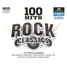 100 Hits Rock Classics 5-CD Box Set NEW SEALED Hawkwind/Thunder/UFO/Saxon/C.C.S+