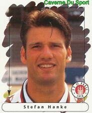 163 STEFAN HANKE GERMANY FC ST. PAULI STICKER FUSSBALL 1996 PANINI
