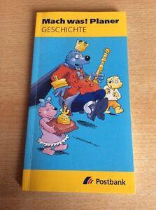 Mach was! Planer, Geschichte, von der Postbank - Husum, Deutschland - Mach was! Planer, Geschichte, von der Postbank - Husum, Deutschland