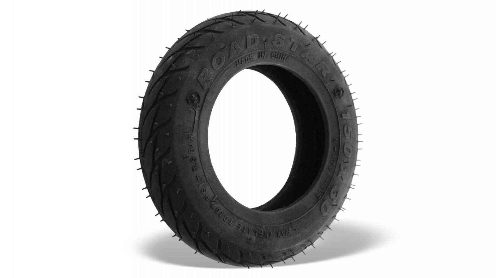 Skike Road Cross Star Cross Road Skates Reifen Mantel Tire 6,25 Zoll 150 x 30 mm 50deef