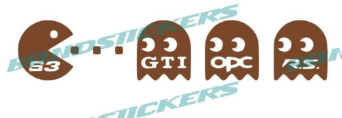 Vinilo de corte pegatina COMECOCOS S3 EAT GTI OPC RS RACING STICKER DECAL AUDI