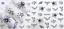 Adesivi-Unghie-Decalcomanie-Nail-Art-WATER-Decals-Stickers-Lavande-Fiori-Farfall miniatuur 35