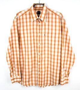 Hugo-Boss-Hombre-Camisa-DZ44-Informal-Etiqueta-Negra-Talla-L