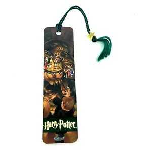 VINTAGE 2000 Harry Potter Bookmark   Scholastic   Fluffy 3 Headed Dog   Sleeved